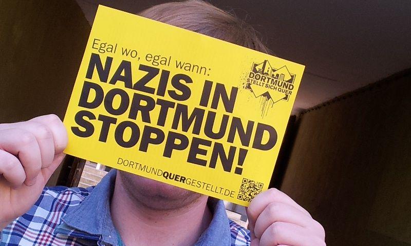 Dortmund stellt sich quer! Dortmund Nazifrei!