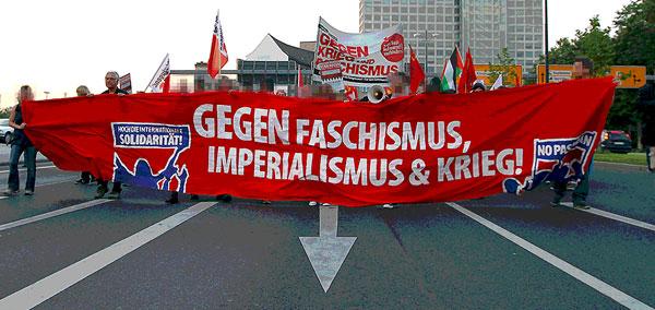 Dortmund stellt sich quer, Vorabenddemo 2012
