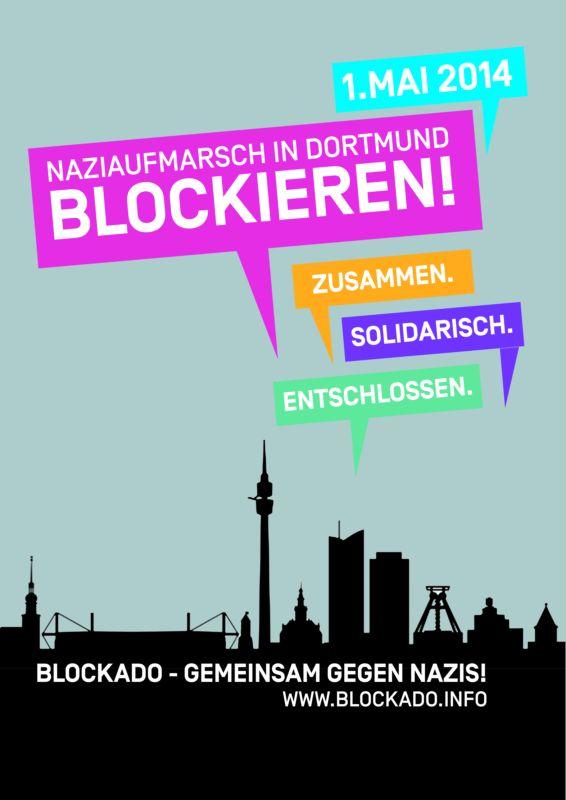 BlockaDo - Dortmund bleibt Nazifrei! - gemeinsam gegen rechts!