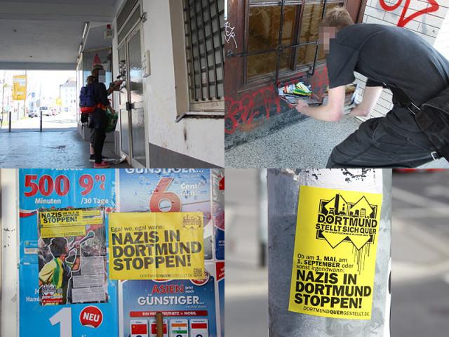 Dortmund stellt sich quer. Nazis am 31. März 2012 stoppen! Dortmund bleibt nazifrei!