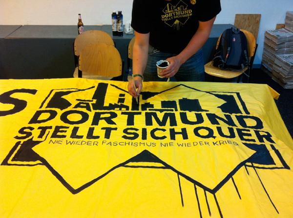 Mobilisierung gegen den Naziaufmarsch am 31.8.2013 - Dortmund bleibt nazifrei!