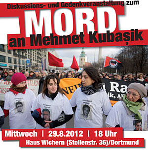 Dortmund stellt sich quer, Diskussions- & Gedenkveranstaltung zum Mord an NSU-Opfer Mehmet Kubaşik