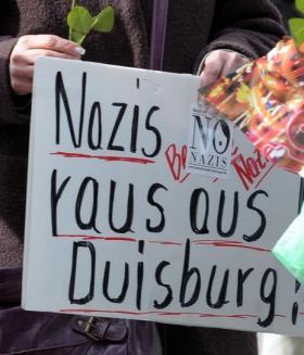 Duisburg: Gegen Pro-Deutschland am 29.8.2013