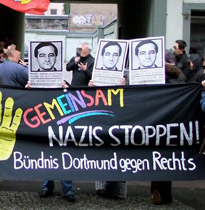Gedenken an NSU-Opfer in Dortmund. Dortmund stellt sich quer!