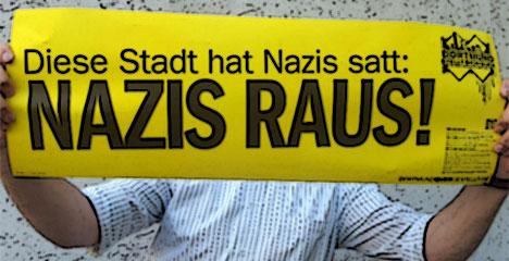 Diese Stadt hat Nazis statt: Nazis raus! Dortmund nazifrei