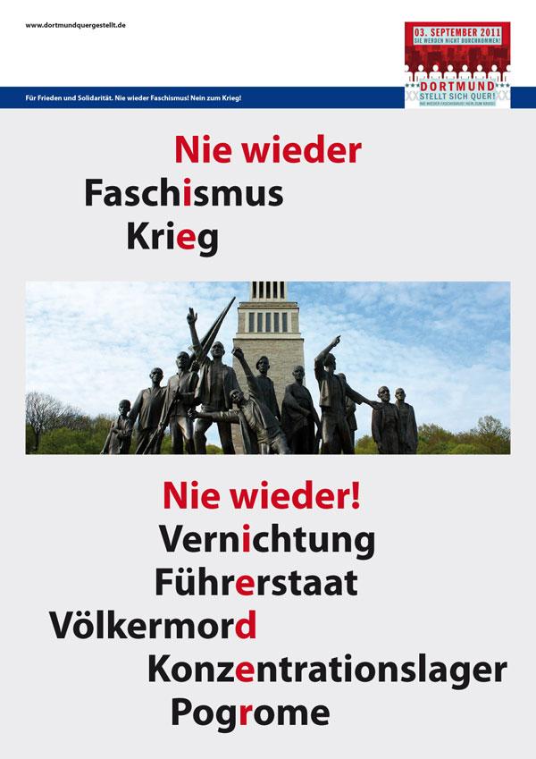 http://dortmundquer.blogsport.de/images/Plakat_DortmundQuer1_Nie_Wieder.jpg