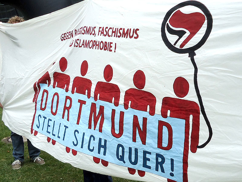 Dortmund stellt sich quer! Dortmund bleibt nazifrei!