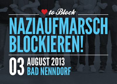 Nazis am 3.8.2013 in Bad Nenndorf stoppen!