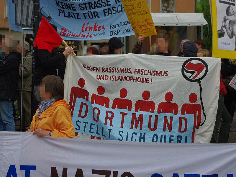Kundgebung gegen Nazis in Dorstfeld. Dortmund stellt sich quer!