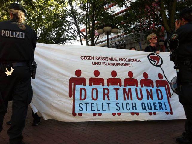 NPD-Kundgebung am 16.8.2013 in Dortmund ein Reinfall