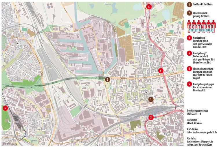 Aktionskarte Dortmund 2010