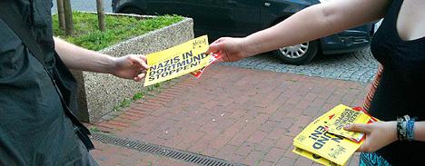 Auf die Straße gegen Nazis - Dortmund bleibt nazifrei! - Dortmund stellt sich quer!