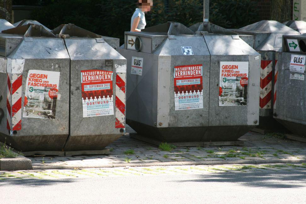 Die Nordstadt stellt sich quer am 3.9. gegen Nazis! Dortmund Nazifrei!