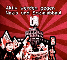 Solidarität mit Flüchtlingen: Demo in Dortmund