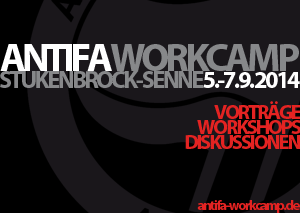 Antifa-Camp vom 5.-7.9 in Stuckenbrock