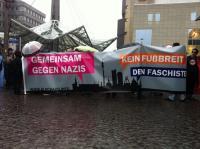 Demonstration gegen rechte Gewalt